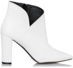 SIDE V CUT ANKLE BOOTS ΓΥΝΑΙΚΕΙΑ envie shoes