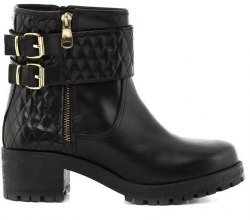 Feng Shoe Δέρμα Τελατίνι Ankle Boots