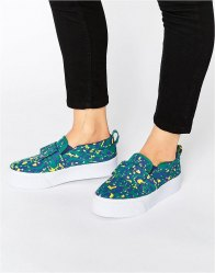 ASOS DARCY Bow Flatform Trainers