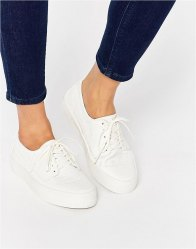ASOS DRUMMER Snake Lace Up Trainers