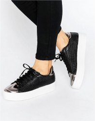 ASOS DEFINITELY Lace Up Trainers