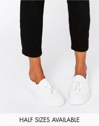 ASOS DONGLE Slip on Toggle Trainers