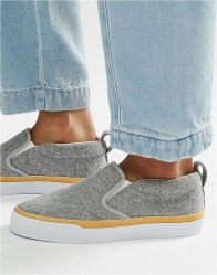 ASOS DYNAMIC Slip On Trainers