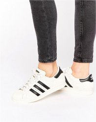 Adidas Originals Faux Snake και Black Superstar Trainers