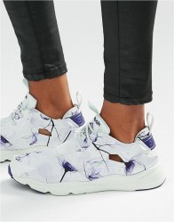 Reebok Furylite Trainers In Botanical Floral Print Multicolour