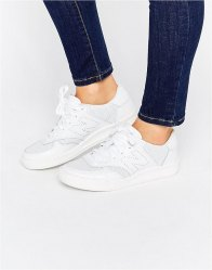 New Balance Court Perforated Leather Trainers