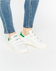 Adidas Originals Faux Snake Velcro Stan Smith Trainers