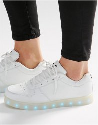 Wize Ope Light Up Sole Trainers