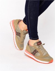 Saucony Jazz Original Trainers In Sand Coral