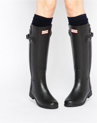 Hunter Original Refined Back Strap Wellington Boots