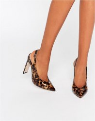ASOS PICCADILLY Pointed heels Tortoise