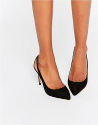 Faith Cut Out Court Shoes