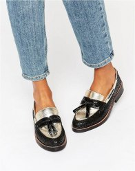 ASOS MYSTIC Leather Loafers