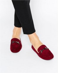 ASOS MAGICAL Loafers Oxblood