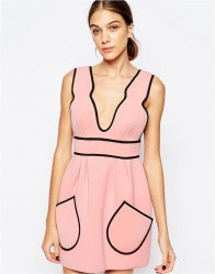 Alice McCall Cloudbursting Dress in Ballet Pink Ballet