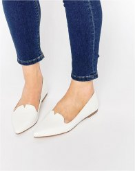 ASOS LOUISIANA Pointed Ballet Flats