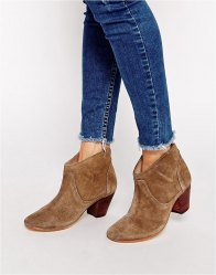 Hudson London Kiver Suede Ankle Boots