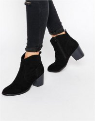 ASOS RAE Western Ankle Boots