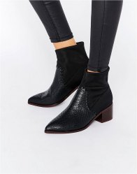 ASOS REYNOLD Western Ankle Boots