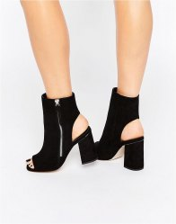 ASOS EVOLUTION Side Zip Ankle Boots
