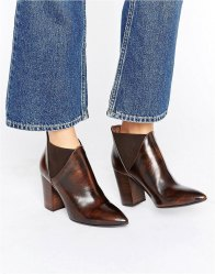 Hudson London Leather Crispin Ankle Boot