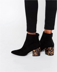 ASOS REACH Pointed Ankle Boots