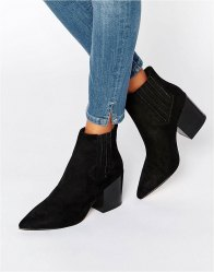 ASOS ELLIOT Pointed Chelsea Ankle Boots
