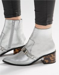 ASOS RASQUAL Pointed Ankle Boots