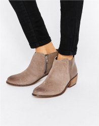Dune Penelope Suede Ankle Boot