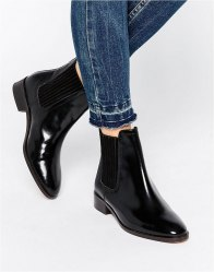 KG By Kurt Geiger Staple Leather Chelsea Boots Black leather