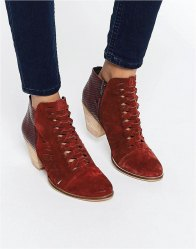 Free People Loveland Leather Ankle Boots