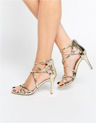 Head Over Heels By Dune Exclusive Minita Strappy Heeled Sandals