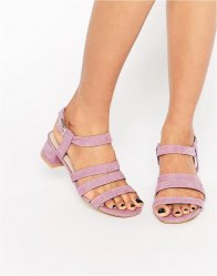 ASOS FORTRESS Flared Heel Sandals