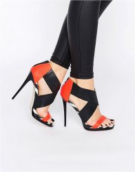 ASOS HOT TO TROTT Heeled Sandals Multi