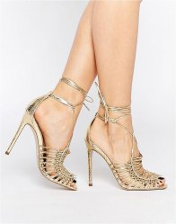 ASOS HUSHED High Sandals