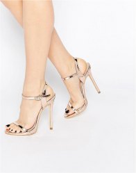 Public Desire Sparra Barely There Heeled Sandals