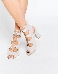 Public Desire Faye Ghillie Block Heeled Sandals