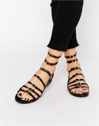 Pull Bear Multi Strap Buckle Sandals