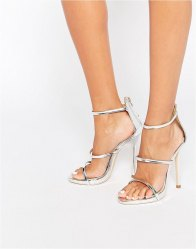 Public Desire Aisha Strappy Heeled Sandals