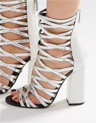 Carvela Goddess Caged Gladiator Heeled Sandals