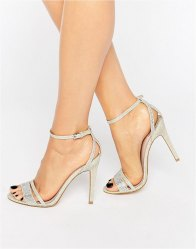 Faith Barely There Heeled Sandals