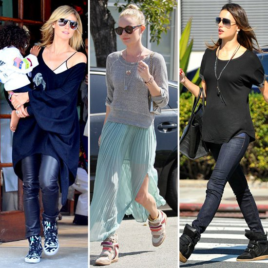 Celebrities-Stylish-Sneakers