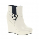 ASOS ALARM Wedge Chelsea Ankle Boots