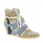 Ash Bea Colourblock Wedge Trainers