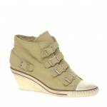 Ash Genial Bis Buckle Low Wedge Trainers