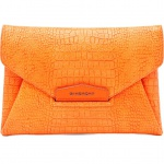 Givenchy - Envelope Clutch in Orange