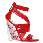 Casadei 120mm Ayers Wedges For Prabal Gurung