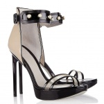 Jason Wu Nadja faux pearl-embellished patent-leather sandals