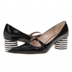 Marc Jacobs - MJ20584 (New Air Shade Calf/Black/Black/White) - Footwear