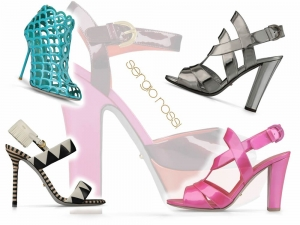 Sergio Rossi Shoes Collection Summer 2013